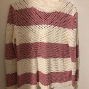Honey Punch pink crewneck sweater